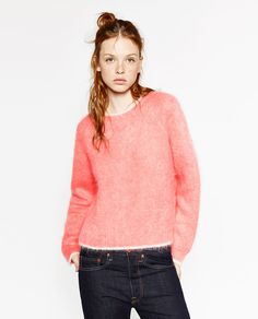 ZARA - MUJER - JERSEY MOHAIR LIMITED EDITION