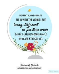 Sharon A. Eubank - October 2017 LDS General Conference Free Printable from BitsyCreations #ldsconf