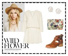 """""""Wild Flower"""" by madelinecarol ❤ liked on Polyvore featuring Jeffrey Campbell, Gucci, Blue Nile, Alice + Olivia and aliceand"""
