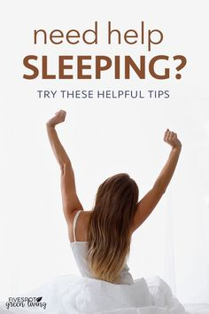 Do you have trouble sleeping at night and end up waking up tired? Here are some helpful tips on how to sleep better. #sleeping #naturalhealth #naturalhealthremedies #HowIGetGoodSleepInNight #HowToGetBetterSleepAtNight #HowToGetBetterDeepSleepAtNight #WhatMakesYouSleepBetterAtNight What Helps You Sleep, How Can I Sleep, Ways To Sleep, How To Sleep Faster, Sleep Help, Sleep Better, Good Night Sleep, How To Get Tired, Foods High In Magnesium