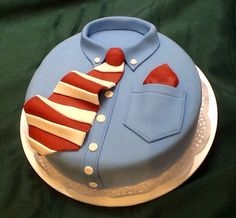 Father's Day fondant cake.