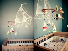 Love boat themed mobiles!