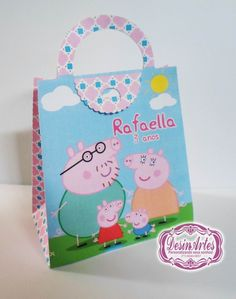 Bolsa Peppa Pig.