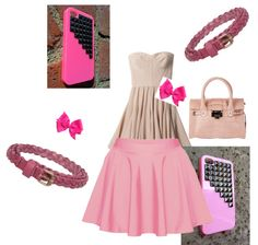 """""""jasmins very pink picture um"""" by jammieflower ❤ liked on Polyvore"""