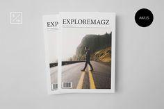 Exploremagz Magazine by Visual Art Supply Co. on @creativework247