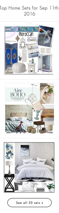 """""""Top Home Sets for Sep 11th, 2016"""" by polyvore ❤ liked on Polyvore featuring interior, interiors, interior design, home, home decor, interior decorating, Dot & Bo, Serena & Lily, Safavieh and Pier 1 Imports"""
