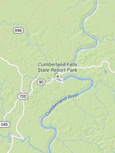 Trails - Cumberland Falls - Resort Parks - Kentucky State Parks EAGLE FALLS