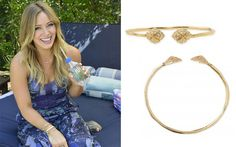 Hilary Duff: Wearing Our Eden Bangle love to stack this bracelet  www.stelladot.com/tennillelewis