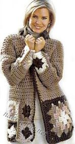 Captivating Crochet a Bodycon Dress Top Ideas. Dazzling Crochet a Bodycon Dress Top Ideas. Crochet Cardigan Pattern, Crochet Jacket, Crochet Blouse, Crochet Poncho, Crochet Granny, Crochet Yarn, Crochet Patterns, Gilet Long, Diy Kleidung
