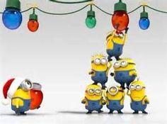 Holiday minions