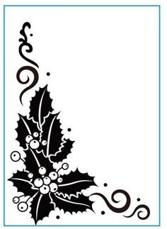 Embossing Folders - Holly