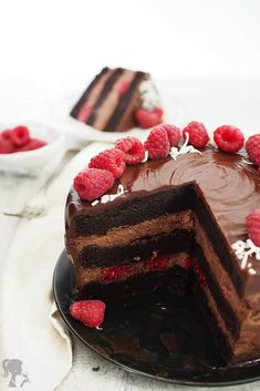 Mini Cheesecakes, Food Hacks, Chocolate Cake, Baking Recipes, Goodies, Food And Drink, Birthday Cake, Sweets, Cooking