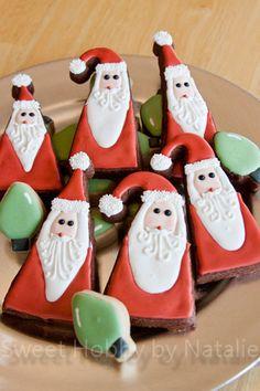 Santa Cookies  Cake by sweethobby
