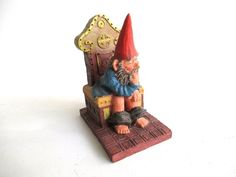 Classic Gnomes 'Theodor' Gnome figurine after a design by Rien Poortvliet