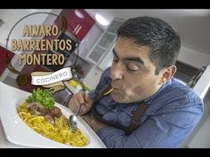 Chilean Recipes, Saute Onions, Food For Thought, Stuffed Peppers, Videos, Easy, Spaghetti, Legumes, Sweet And Saltines