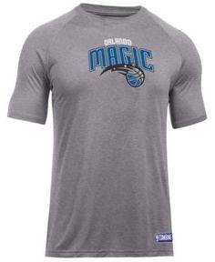 Under Armour Men's Orlando Magic Primary Logo T-Shirt - Gray XXL