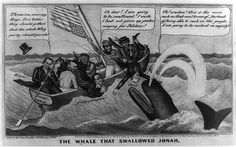 The whale that swallowed Jonah   Library of Congress