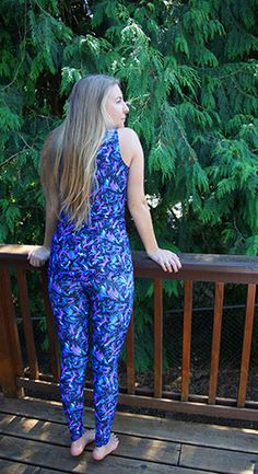 Printed Yoga Pants, Yoga Leggings, Shades Of Blue, Polyester Spandex, Hot Pink, Pants For Women, Jumpsuit, Beautiful, Collection