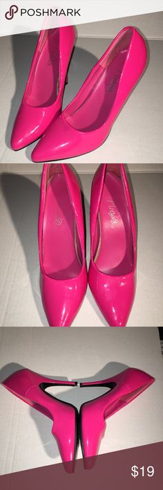 Pleaser heels stilettos hot pink 7.5 Very cute size 7.5 hot pink tall heels. Pleaser Shoes Heels