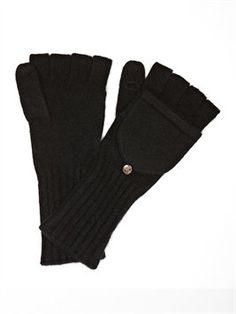 Carolina Amato Cashmere Extended Pop Top Glove