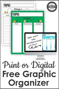 Are you in search of a printable KWL chart? Or perhaps you want to know what a KWL chart even means? The Know, Want, Learn strategy is used to help students understand a topic and explore it further. Graphic Organizers, Speech Therapy, Pediatrics, How To Know, Physics, Executive Functioning, Printables, Chart, Ads