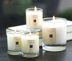 """Jo Malone candle in Amber Orange.  I would love to try this.  Not quite ready for this indulgence.  It's 65.00  That's why it's a """"wish"""" list I guess!  lol  a couple of other good sounding scents are:  pomegranate noir, nectarine blossom and honey and lime blossom."""