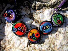 collar+cerámica++de+Soñando+voy+por+DaWanda.com