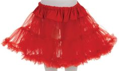 PETTICOAT TUTU CHILD SKIRT RED