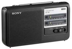 New Portable AM/FM Radio BLACK by Sony by Sony. $43.95