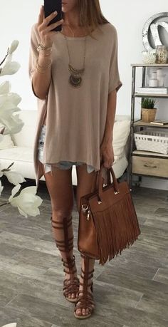 Summer brunch outfit, casual outfits, cute outfits, girly outfits, casual c Mode Outfits, Casual Outfits, Fashion Outfits, Womens Fashion, Girly Outfits, Fashion Ideas, Fashion Trends, Spring Summer Fashion, Spring Outfits