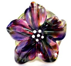 Grape Escape Floral - Lampwork Tutorial by RadiantMind