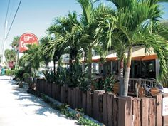 Guppy's, Indian Rocks Beach.   Best grouper sand EVER!! And.. Best bloody Mary's!  :) miss the beach so much!