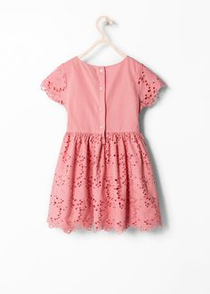 Broderie anglaise dress - Mango Kids