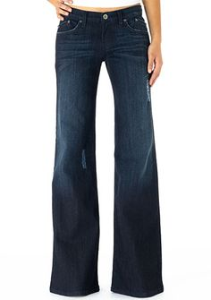 I really want some wide leg jeans