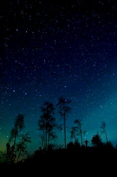 I love the night sky. It's a reminder of just how much is beyond ourselves.