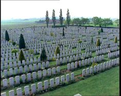 Remember. http://www.britishpathe.com/gallery/ww1-telling-images War graves at Ypres.
