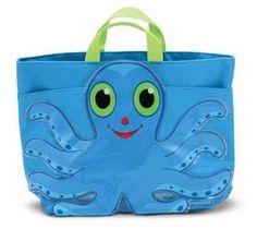 Flex Octopus Beach Tote Bag  Item #: 6420    Price: $14.99