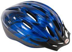 Blue Schwinn Intercept Adult Micro Bicycle Helmet