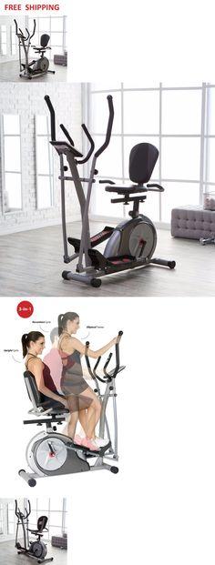 Ellipticals 72602: Elliptical Bike 3 In 1 Cardio Fitness Machine Workout  Exercise Equipment Body