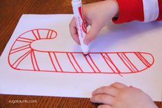 Christmas Pencil Control Activities for Kids DIY Worksheets
