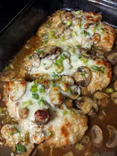 "Chicken Lombardy - A pinner's review: ""EXCELLENT!!! Chicken Lombardy. I made it tonight with thin sliced boneless pork chops instead of chicken and it is the most delicious thing I have ever tasted in my entire life."""