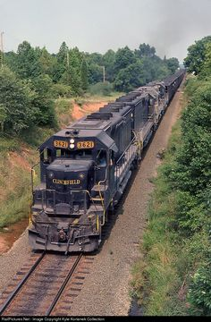 RailPictures.Net Photo: CRR 3621 Clinchfield Railroad EMD SD45-2 at Lattimore, North Carolina by Kyle Korienek Collection