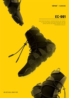 Vibram EC-001 on Behance