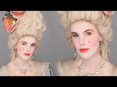 Lisa Eldridge Make Up | Video | Marie Antoinette Inspired Makeup Tutorial #FacePaintBook