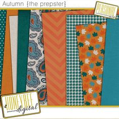 FREE HoneyBee Digital - Autumn {the prepster}: