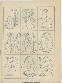 Free Easy Cross, Pattern Maker, PCStitch Charts + Free Historic Old Pattern Books: Sajou No 342