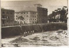 Foto storiche di Roma - Colosseo, lavori di scavo verso il Celio Nuova foto inviata da Fabrizio Antonelli