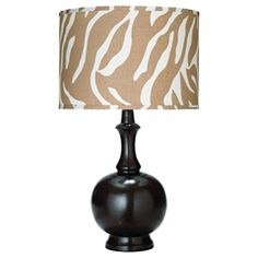 Jamie Young Lighting Table Lamp Base Genie Large Chocolate JY1GENILG