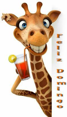 Cute and Funny Giraffe Giraffe Pictures, Animal Pictures, Cute Pictures, Funny Giraffe, Giraffe Art, Animal Paintings, Animal Drawings, Cartoon Art, Cute Cartoon