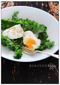poached eggs by jules:stonesoup, via Flickr